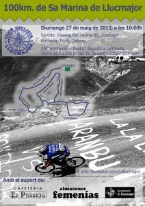 Cartell 100km 2012