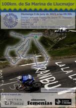 Cartell 100km 2013