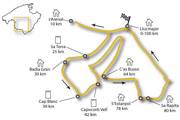 Ruta 100km Marina de Llucmajor